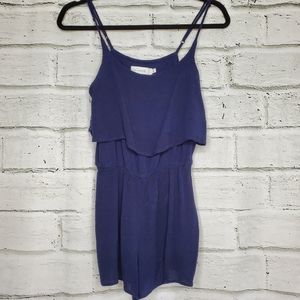 Bishop + Young blue romper size small